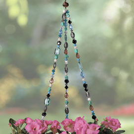 Southwest Beaded Plant Hanger