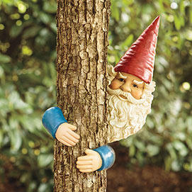 Gnome Tree Hugger