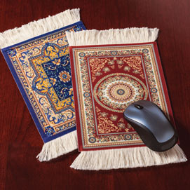 Oriental Rug Mousepad - Red