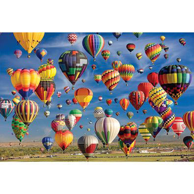Sky Full of Balloons 1000 Piece Giant Jigsaw Puzzle
