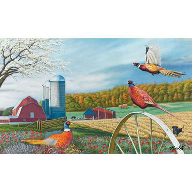 Pheasant Country 500 Piece Jigsaw Puzzle