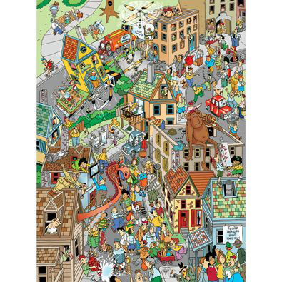 Twisted Treasure Hunt 1000  Piece Jigsaw Puzzle