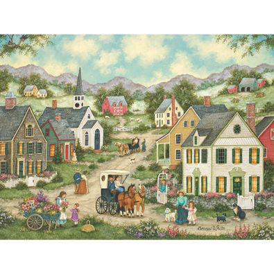 May Flowers 500 Piece Jigsaw Puzzle