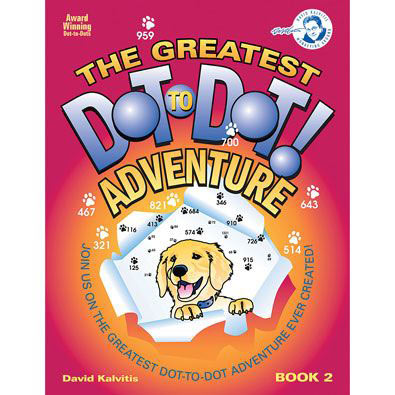 The Greatest Dot-To-Dot Adventure Book Vol. 2