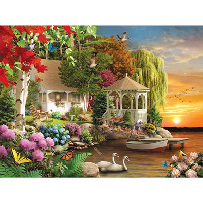Heaven On Earth 300 Large Piece Jigsaw Puzzle