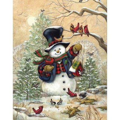 Winter Friends 300 Large Piece Jigsaw Puzzle