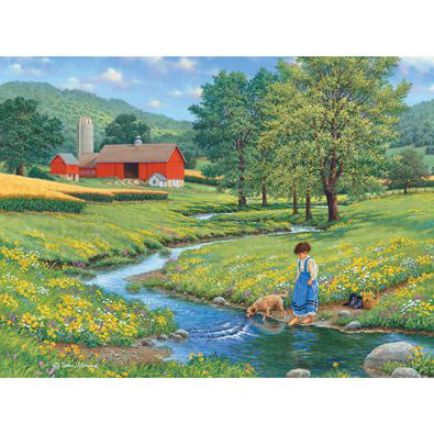 Cool Water 300 Large Piece Jigsaw Puzzle
