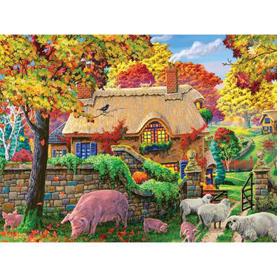 Autumn Tranquility 500 Piece Jigsaw Puzzle