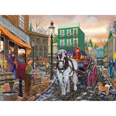 Frank's Hardware Store 500 Piece Jigsaw Puzzle