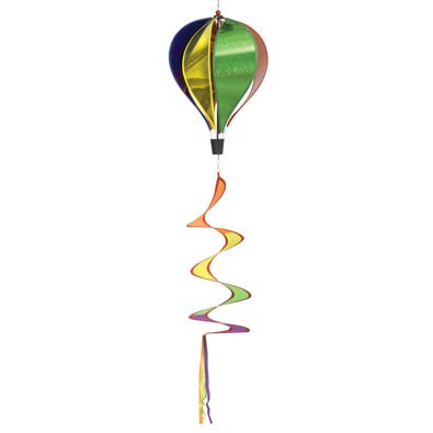 Sparkle Balloon Nylon Wind Spinner