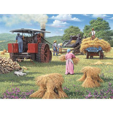 Harvest Days 500 Piece Jigsaw Puzzle