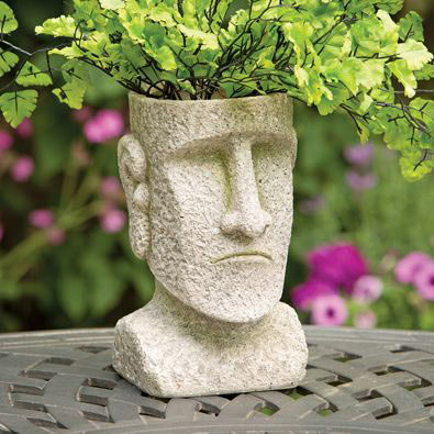 Easter Island Planter
