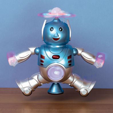 Happy Dancing Light-Up Robot