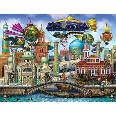 Aranetian City 1000 Piece Holographic Jigsaw Puzzle