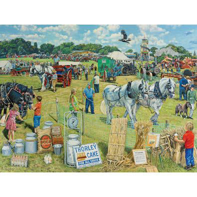The Country Show 300 Large Piece Jigsaw Puzzle