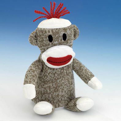 Pipsqueaks Sock Monkey
