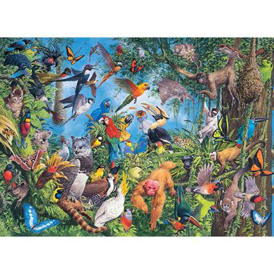 Tropical Treetops 1500 Piece Jigsaw Puzzle