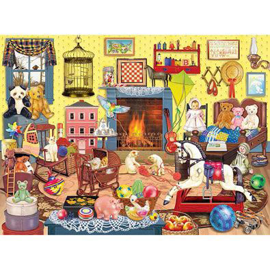 Who Left The Cage Door Open 300 Large Piece Jigsaw Puzzle
