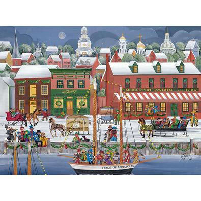 Pride Of Annapolis 1000 Piece Jigsaw Puzzle