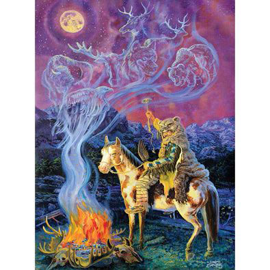 Moon Spirit 1000 Piece Glow-In-The-Dark Jigsaw Puzzle