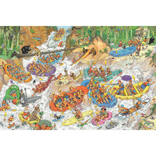 Wild Water Rafting 3000 Piece Jigsaw Puzzle