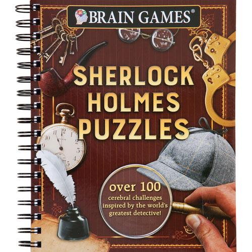 Crime Puzzle Books- Sherlock Holmes