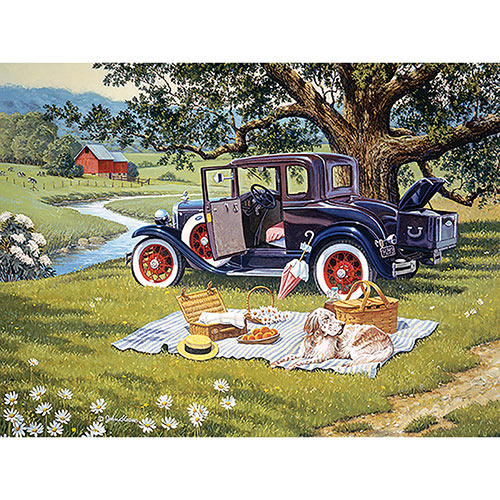 From Seasons Past 300 Large Piece Jigsaw Puzzle