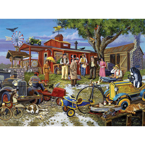 Death In the Desert 1000 Piece Jigsaw Puzzle