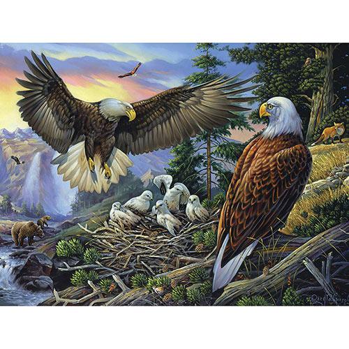 Eagle Shelter 1000 Piece Jigsaw Puzzle