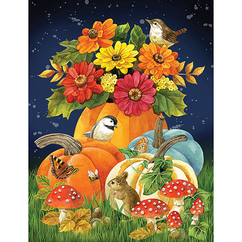 Autumn Charm 1000 Piece Jigsaw Puzzle
