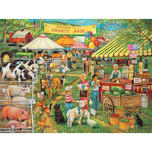 Country Fair 300 Large Piece Jigsaw Puzzle