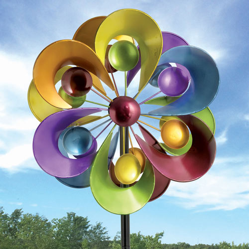 Prismatic Posy Wind Spinner