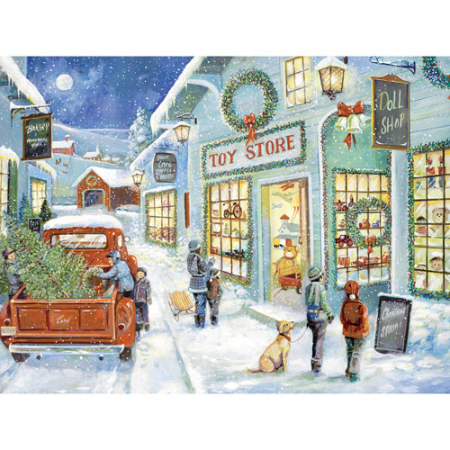 The Town Toy Store 1000 Piece Jigsaw Puzzle