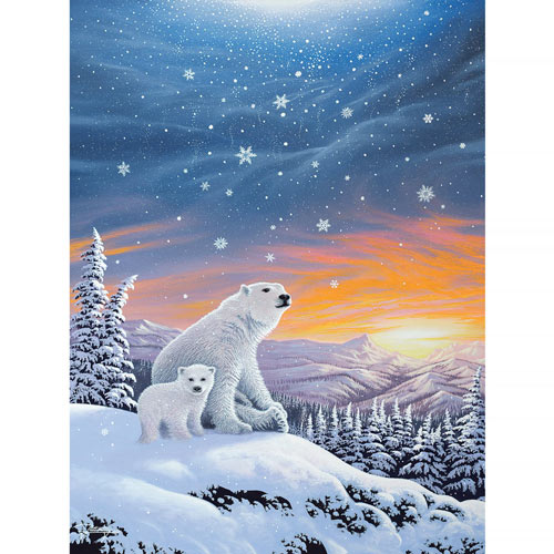 The Snow Bears 300 Large Piece Jigsaw Puzzle