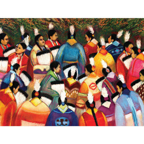 Homecoming 300 Large Piece Jigsaw Puzzle