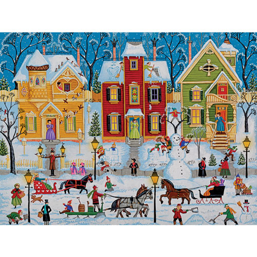After The Snow Has Fallen 300 Large Piece Jigsaw Puzzle