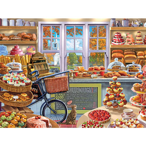 Bread And Cake Shop 500 Piece Jigsaw Puzzle