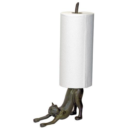 Cat Paper Towel Holder
