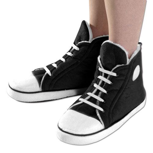 Black Sneaker Slippers