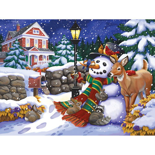 Shelter from the Storm 300 Large Piece Jigsaw Puzzle