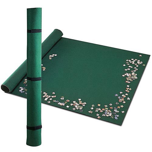 Portable Felt Jigsaw Puzzle Roll