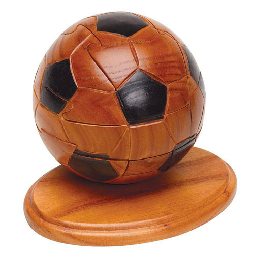 Dimensions In Wood™ Sports Puzzle - Soccer Ball