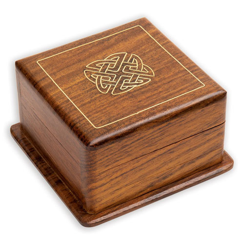 Celtic Inlay Keepsake Box