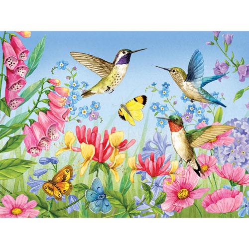 Hummingbirds and Butterflies 500 Piece Jigsaw Puzzle