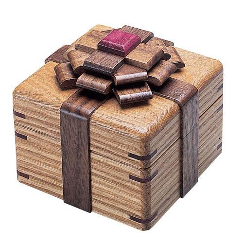 Kamei Elegant Ribbon Puzzle Box