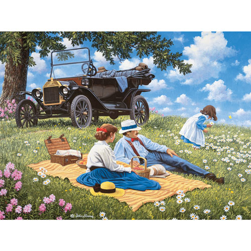 T For Three 1000 Piece Jigsaw Puzzle