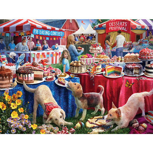 Desserts Festival 300 Large Piece Jigsaw Puzzle