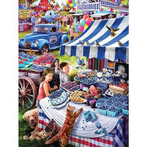 Blueberry Festival 300 Large Piece Jigsaw Puzzle