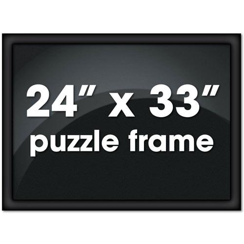 24 x 33 Black Channel Frame