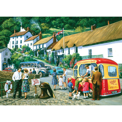 The English Resort 1000 Piece Jigsaw Puzzle